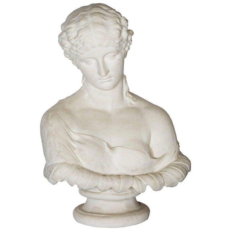 A Plaster-Cast Portrait Bust of Clytie
