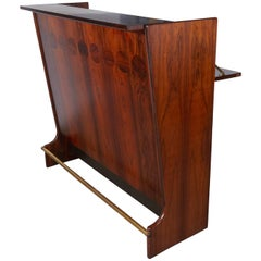 Rosewood Standing Dry Bar by Johannes Andersen
