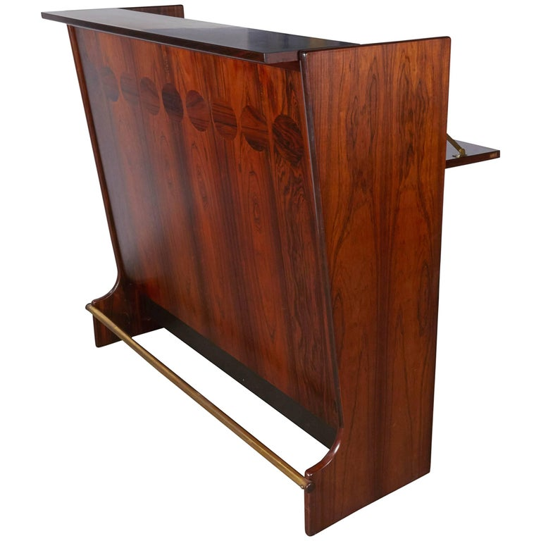 Rosewood Standing Dry Bar by Johannes Andersen 1