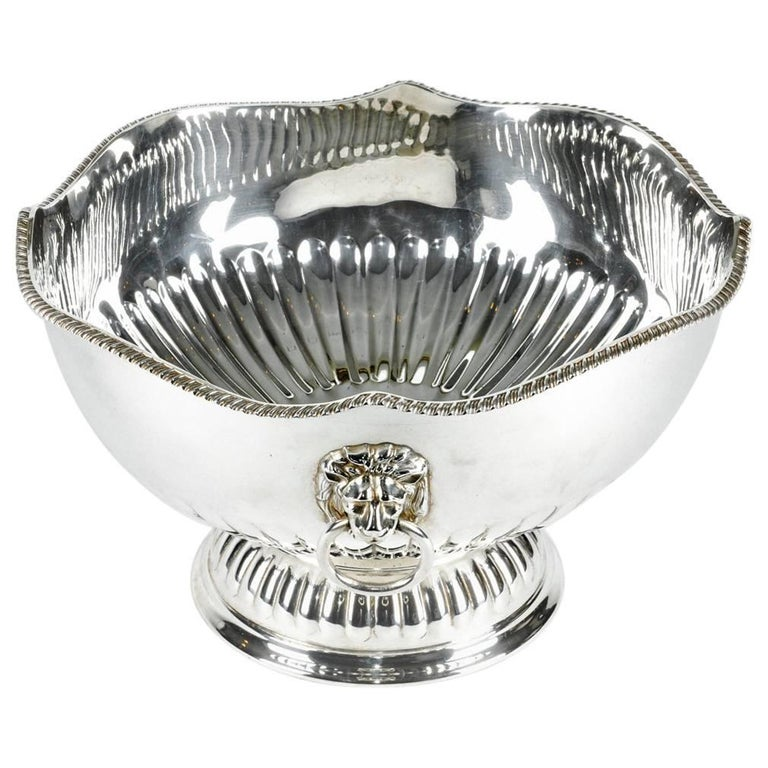 Vintage English Plated Wine Cooler