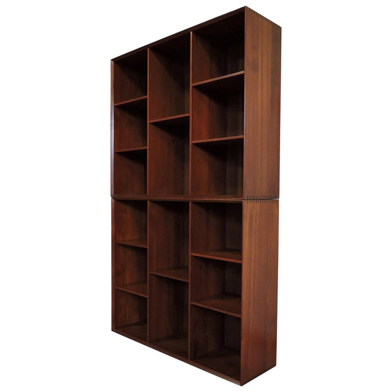Midcentury Danish Modern Peter Hvidt Solid Teak Bookcases