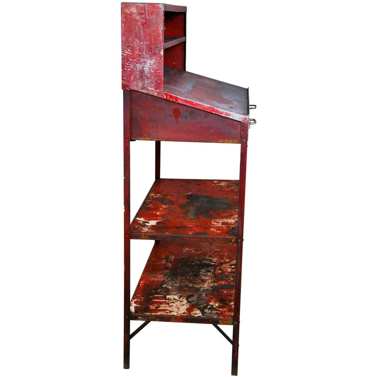 1930 Foreman's Industrial Factory Warehouse Desk