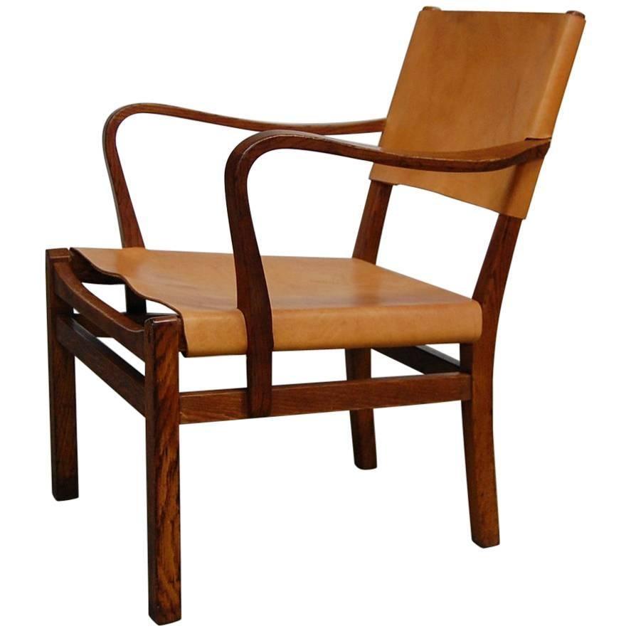 Lounge Chair Designed by Axel Einar Hjorth
