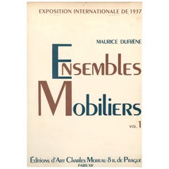 """Ensembles Mobiliers"" 'Portfolio of Art Deco Room Sets' Volume 1"