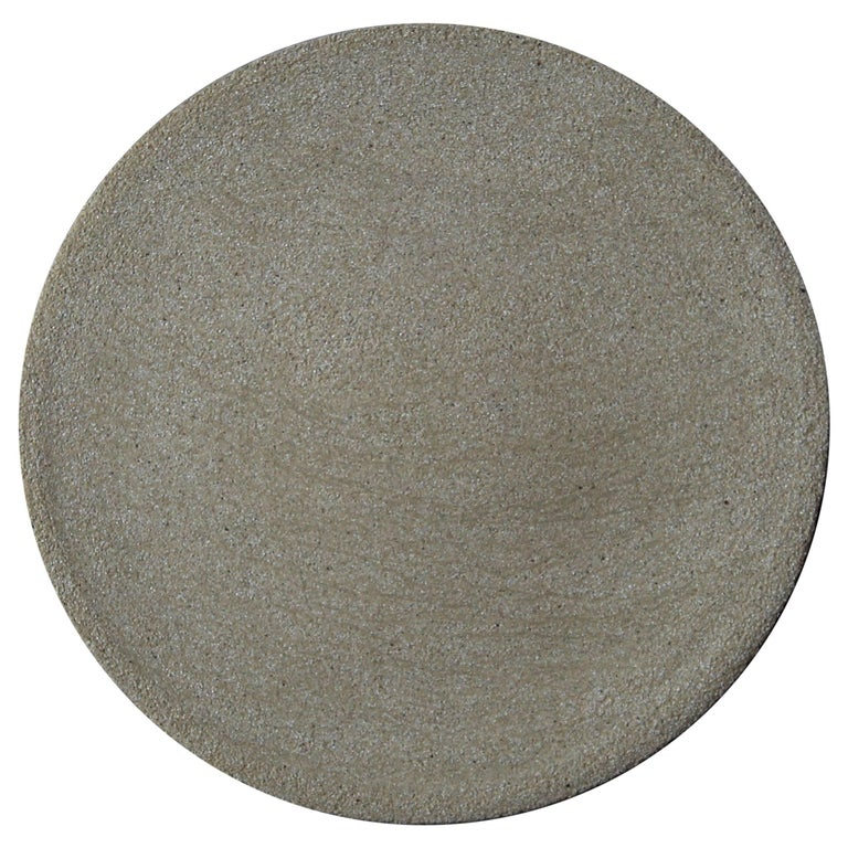 Stoneware Plate P24 by Christel Thue, Plant Series
