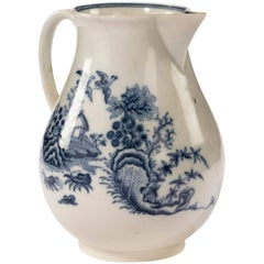 Late 18th Century Liverpool Blue and White Printed Jug