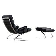 COR Sinus Lounge Chair & Ottoman 2015 Edition, 1976 by R. Adolf & H. Schröpfer