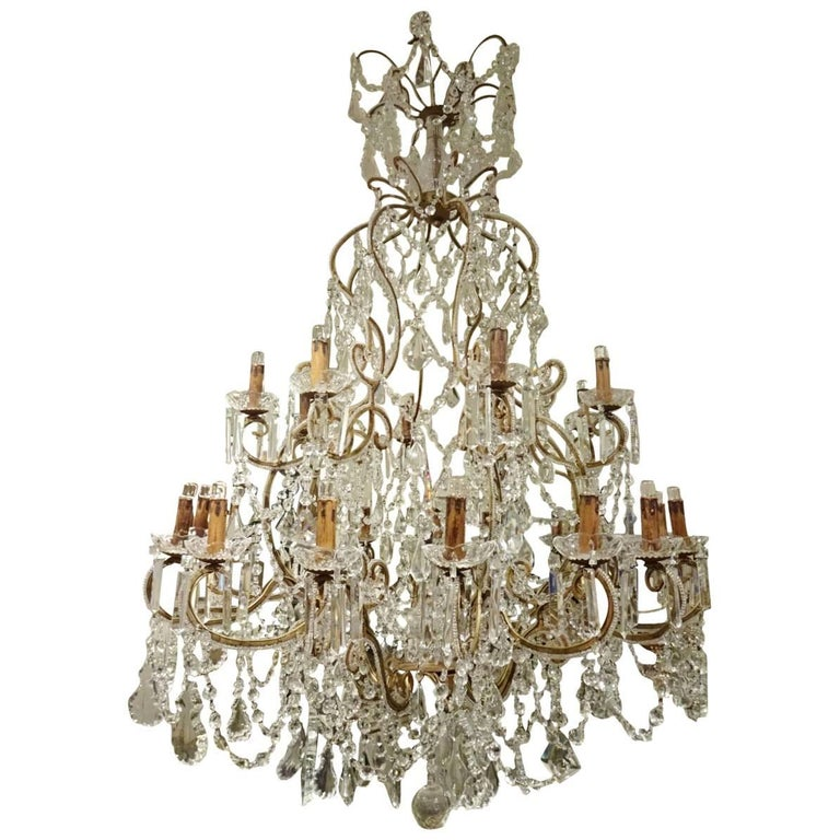 Early 20th Century French Chandelier