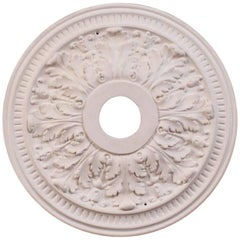"""""""Small Acanthus"""" Plaster Ceiling Medallions"""
