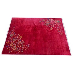 Nichols Chinese Art Deco Wool Rug