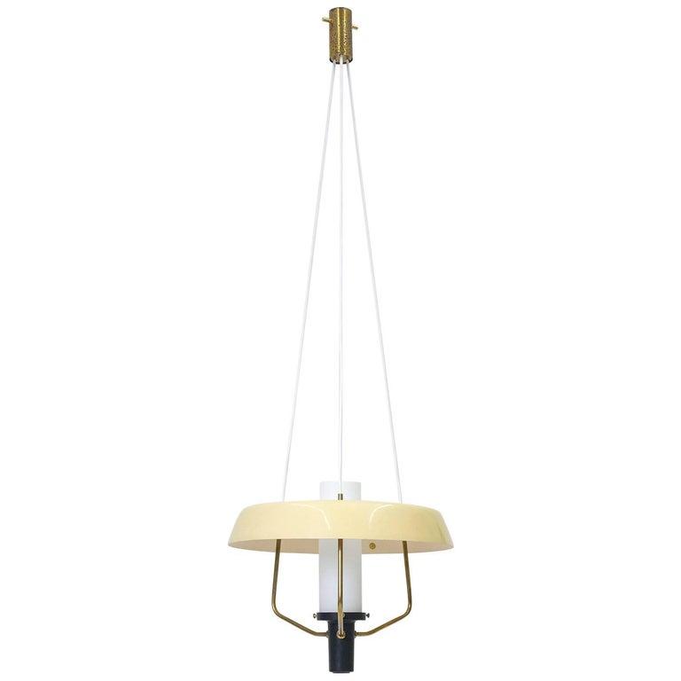 Stilnovo Modernist Pendant Lantern, 1950s