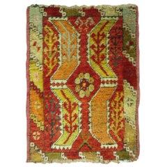 Antique Turkish Yastik Rug