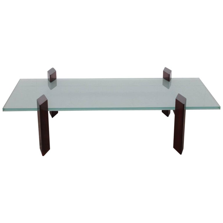 Carlo Hauner Roswood Coffee Table For Sale