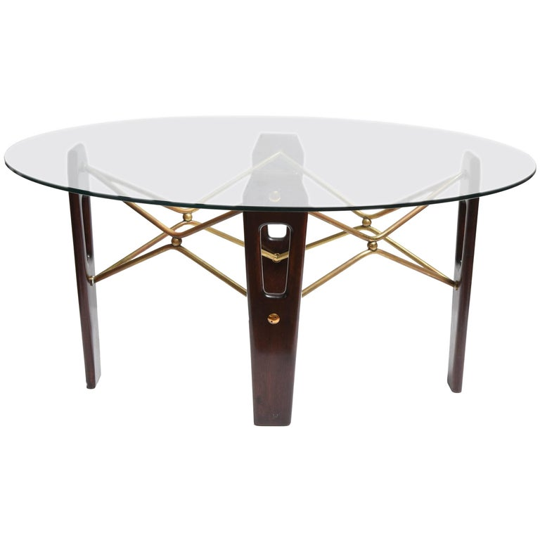 Geometric italian coffee table at 1stdibs for Geometric coffee table