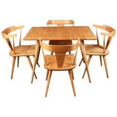 Midcentury Paul McCobb Planner Group Refinished Dining Set, 1950s