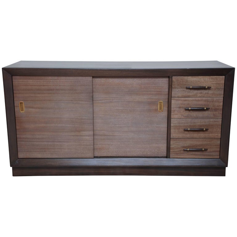 Robsjohn-Gibbings Storage Cabinet For Sale