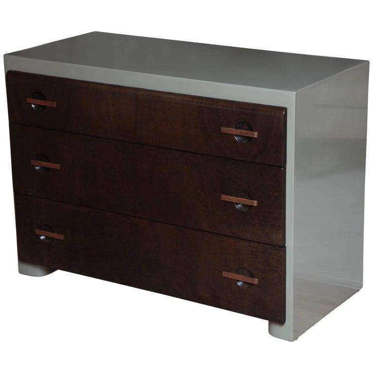 Three-Drawer Art Deco Dresser