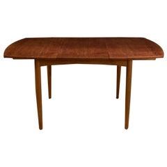 Large Danish Modern Teak Dining Table By L Amp F Mobler For