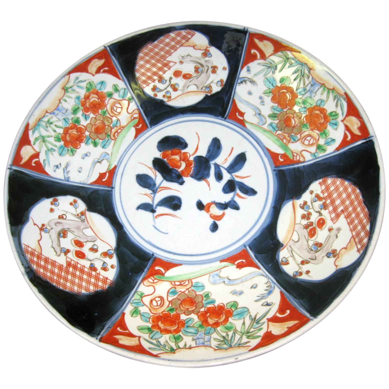 19th century Japanese Meiji Period Imari Charger
