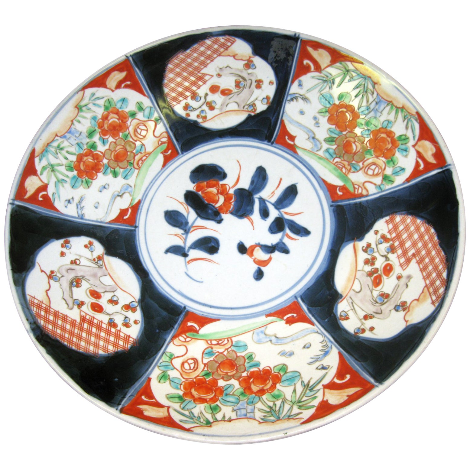 19th century Japanese Meiji Period Imari Charger