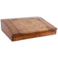 Antique Tabletop Writing Slope
