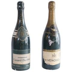 Large Display Champagne Bottles