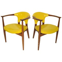 Pair of Teak Midcentury Armchairs