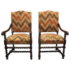 19th Century Pair of Armchairs