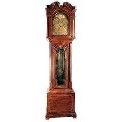 American Sheraton Style Longcase Clock