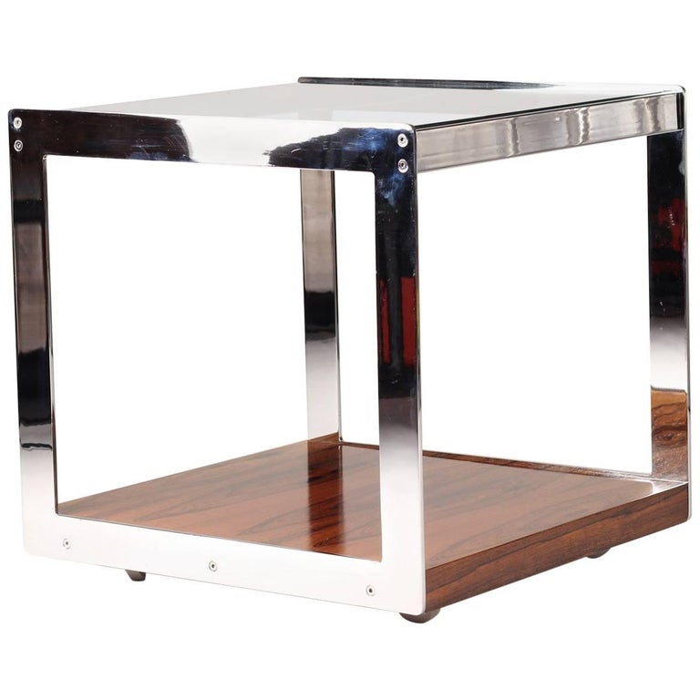 Merrow Rosewood Side Table For Sale