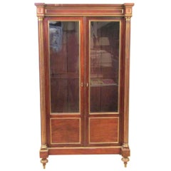 19th Century Russian or French Neoclassical Cabinet or Bibliotheque