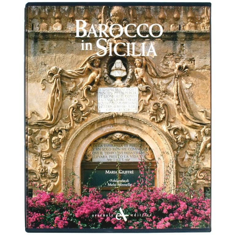 Barocco in Sicilia by Maria Giuffrè, First Edition For Sale