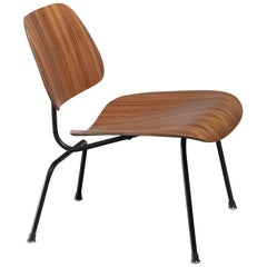 Rare Zebrano Edition of the Eames LCM Chair for Herman Miller, USA