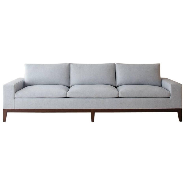 Contemporary Lacuna Sofa, Custom and Made to Order by Dmitriy & Co