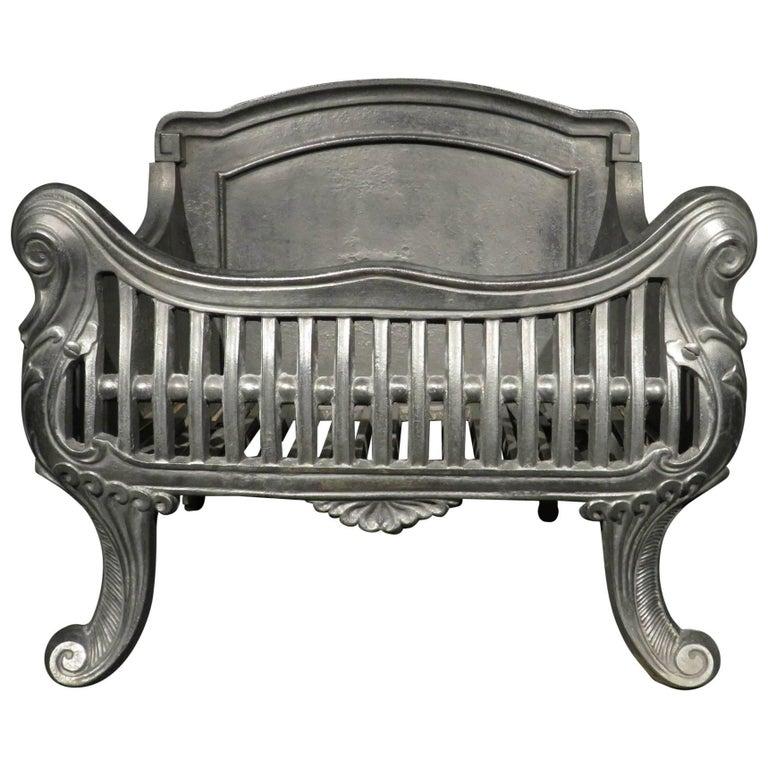 Art Nouveau Cast Iron Fire Grate Basket Circa 1900 At 1stdibs