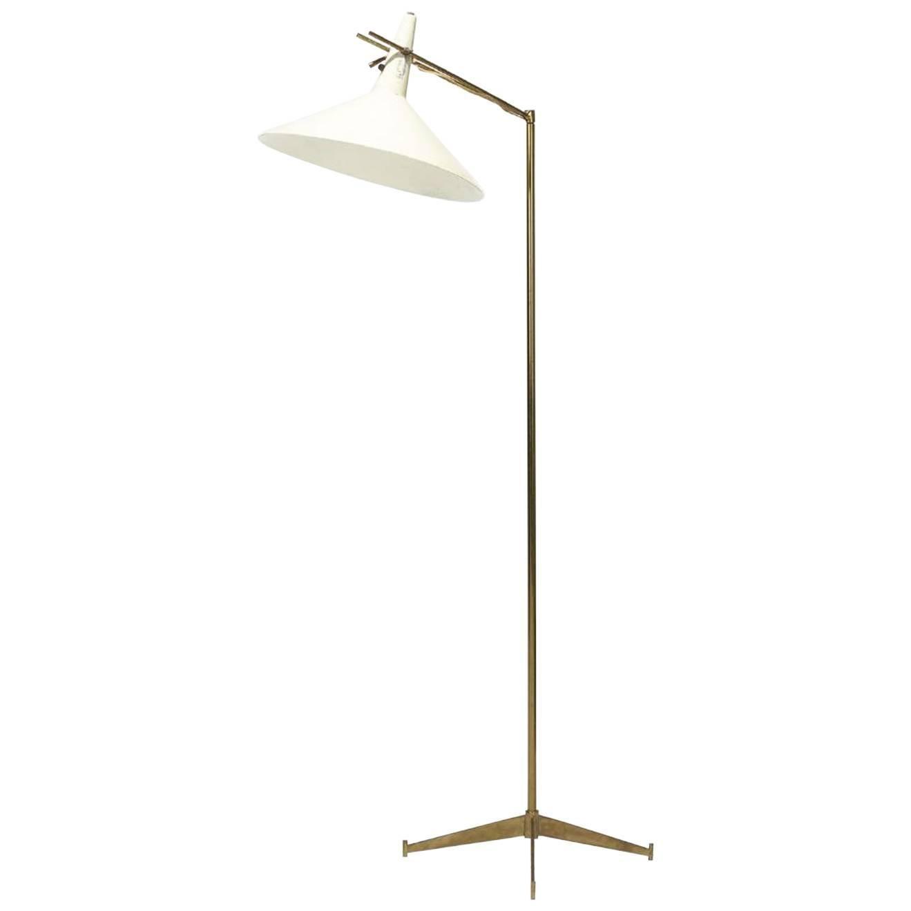 rare paul mccobb e11 floor lamp for directional
