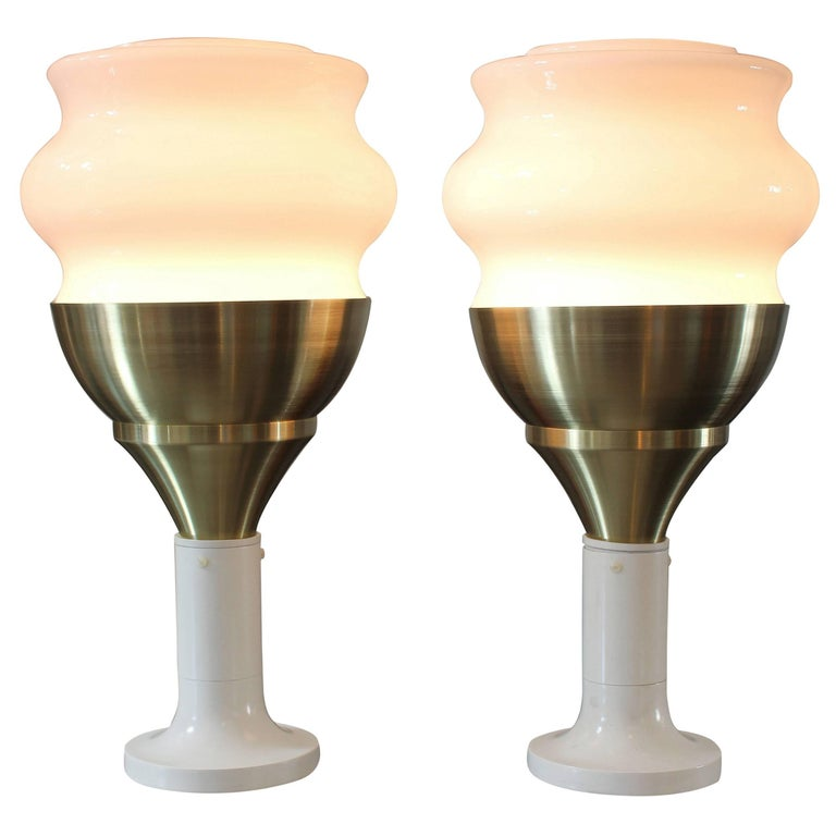 Pair of Italian Table Lamps For Sale