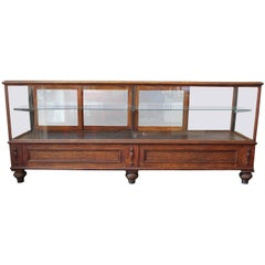 Antique Glass Case by Grand Rapid Store Equipment