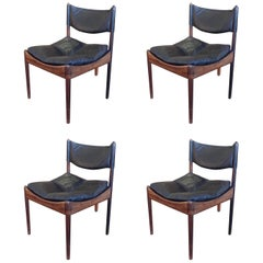 Kristian Solmer Vedel Modus Dining Chairs, Set of Four