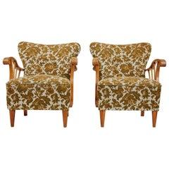 Pair of 1940s Italian Armchairs