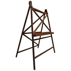 Gigantic and Very Unusual Easel, France, 1920-1930