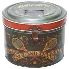 Antique Tole Wimbledon Box