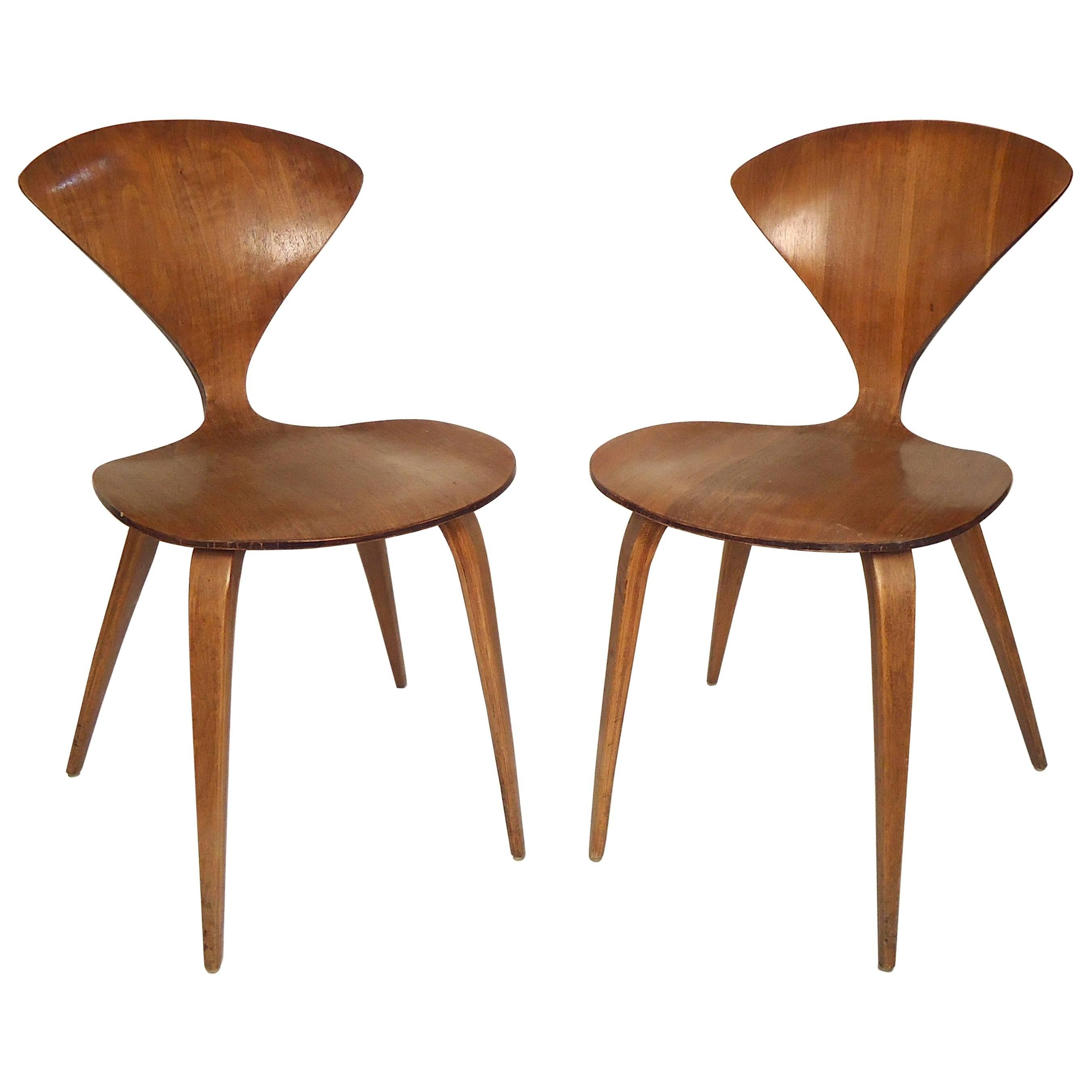 plycraft bentwood chairs by norman cherner 1