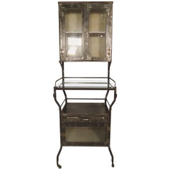 Tall Industrial Metal Cabinet