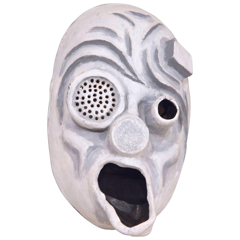 Haunting Robotic Neoprene Mask For Sale