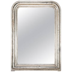 Louis Philippe Arched Silvered Mirror