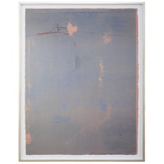 """Cameo"" a Signed and Numbered Color Woodcut by Helen Frankenthaler"