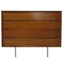 Arne Vodder Teak Wood Dresser Chest by Sibast Denmark