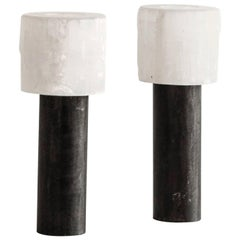 Sophie Dries Pair of Candleholders N.3