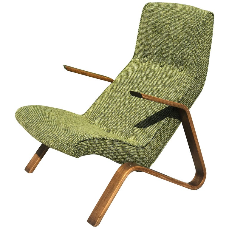 "Early Eero Saarinen ""Grasshopper"" Lounge Chair for Knoll For Sale"